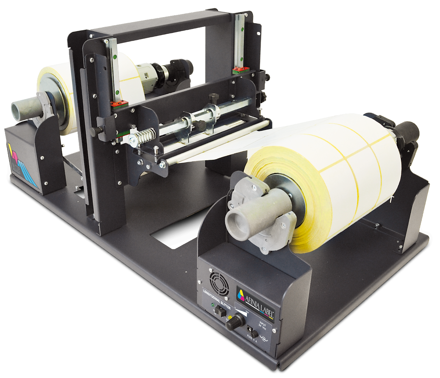 SR-100 Label Slitter and Rewinder from Afinia Label