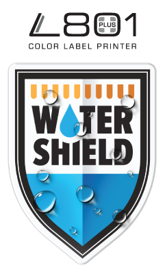 L801 Plus with Watershield water-resistant inks