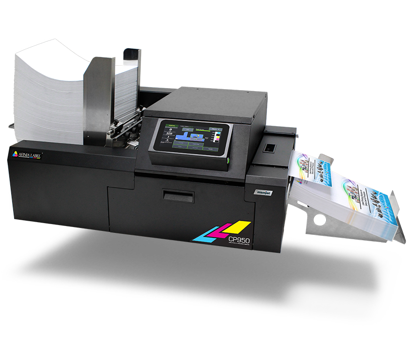 CP950 cardstock, packaging, envelope printer from Afinia Label
