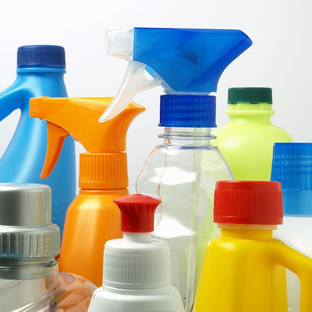 Retail chemical products label printers from Afinia Label
